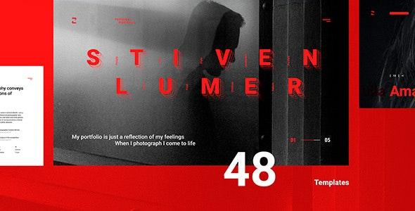 Stiven Lumer - Portfolio UI Kit for Figma - Creative Figma