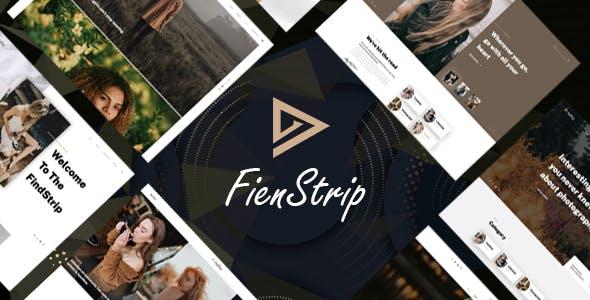 Fienstrip – Multipurpose Blog PSD Template