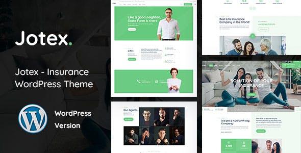 Download Jotex - Insurance WordPress Theme