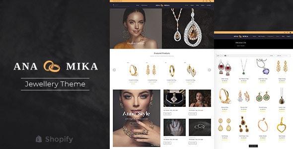 Anamika - Jewelry Fashion Shopify - Fashion Shopify