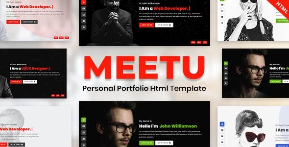 Meetu - Portfolio Html Template - Portfolio Creative