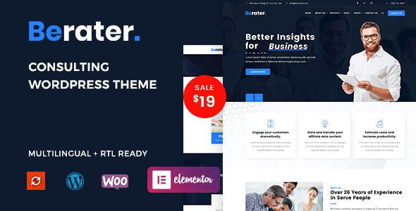 Berater - Consulting WordPress Theme