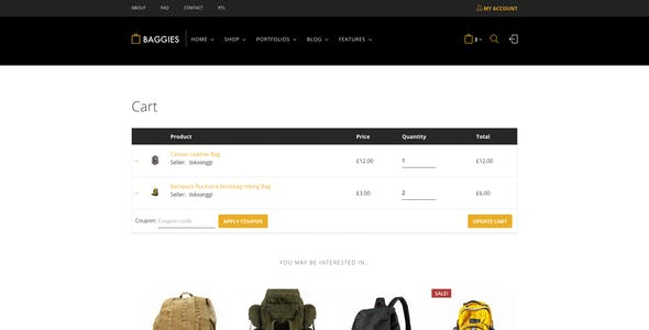 Baggies - WooCommerce Marketplace Themes