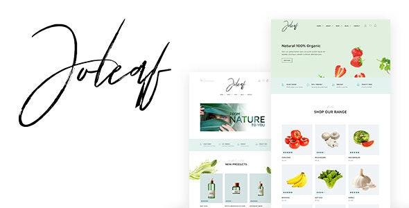 Joleaf - E-commerce Template - Health & Beauty Retail