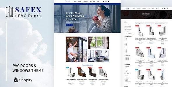 Safex - Hardware Shop, UPVC Furniture Shopify Theme - Miscellaneous Shopify