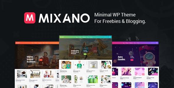 Download Mixano - Minimal WordPress Theme