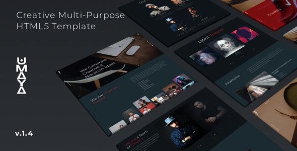 Umaya - Creative Agency Multi-purpose Template - Creative Site Templates