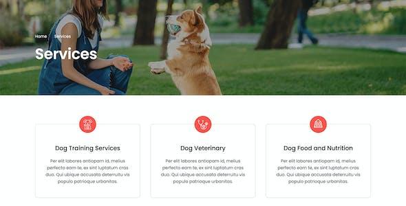 Tailwag - Dog Breeder & Adoption Template Kit
