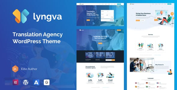 Lyngva - Translation Agency WordPress