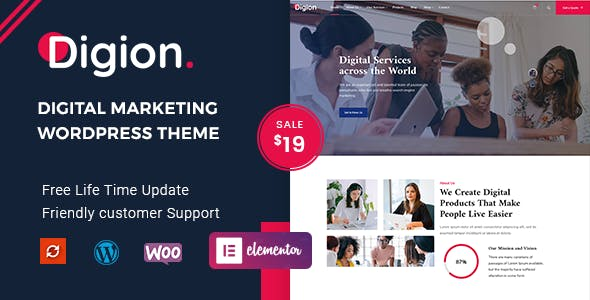 Download Digion - Online Digital Marketing WordPress Theme