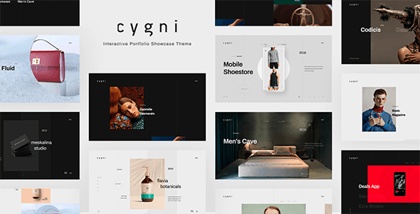 Download Cygni - Interactive Portfolio Showcase Theme