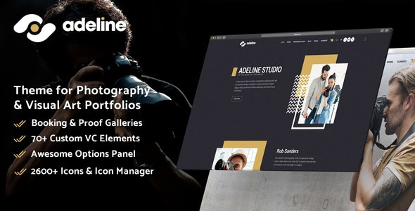Adeline - Photography Portfolio Theme - Photography Creative