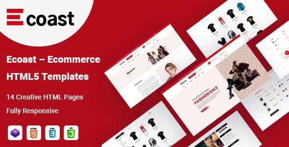 Download ECoast  eCommerce HTML