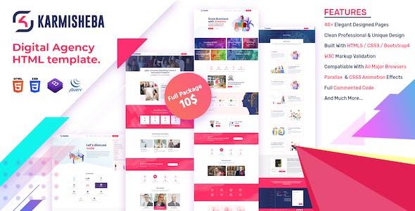 Download Karmisheba - Digital IT Solutions & Services HTML5 Template