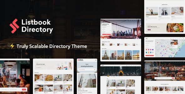 Download Listbook - Directory Listing WordPress Theme