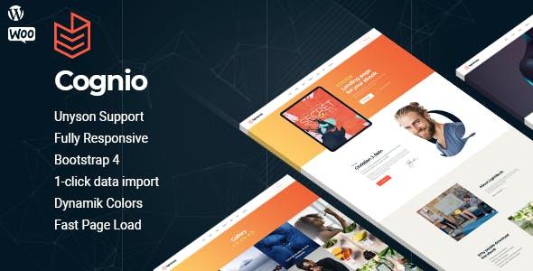 Download Cognio - Book Promo WordPress theme