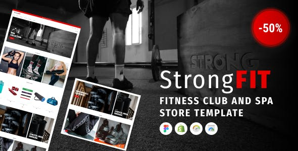 StrongFit - Fitness Club Shopify Theme for Beauty Spa Salon and Wellness Center