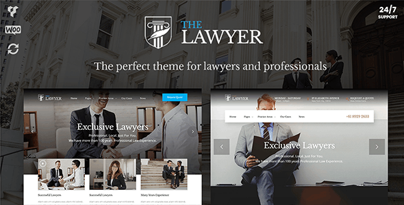 TheLawyer – Attorney & Law Firm WordPress Theme - Business Corporate