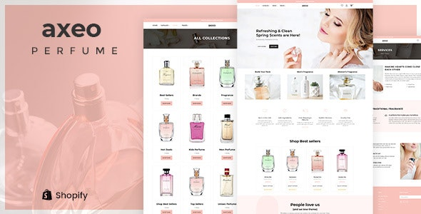 Axeo - Perfume, Cosmetics Store Shopify Theme - Health & Beauty Shopify