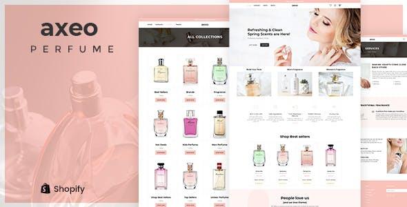 Axeo - Perfume, Cosmetics Store Shopify Theme