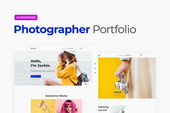 Proto – Photographer Portfolio Template Kit - Photography Elementor