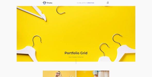 Proto – Photographer Portfolio Template Kit