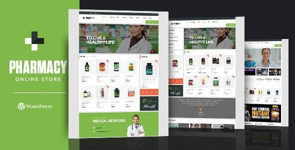 Pharmacy WooCommerce WordPress Responsive Theme - WooCommerce eCommerce