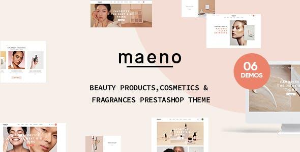 Leo Maeno Cosmetics PrestaShop Theme