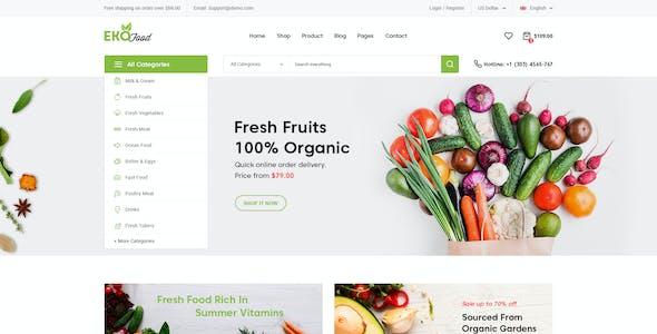 EkoFood - Organic and Food Store Theme