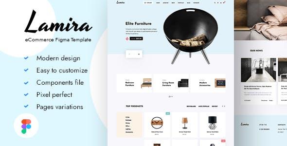 Lamira - eCommerce Figma Template