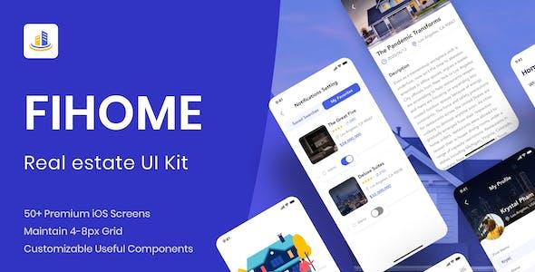 FiHome - Real estate App UI Kit