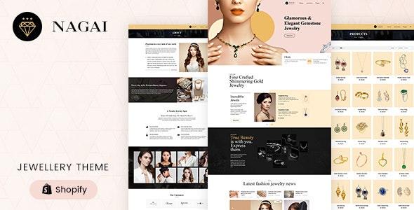 Nagai - Jewelry Responsive Shopify Theme - Fashion Shopify