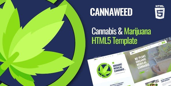 Download Cannaweed   Marijuana HTML5 Template