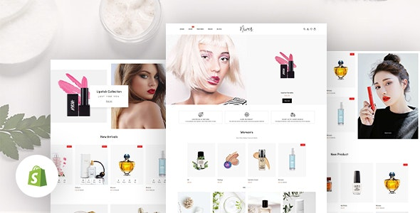 Niver - Beauty & Cosmetics Shop Responsive Shopify Theme - Shopify eCommerce