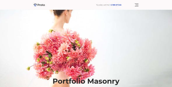 Proto – Photographer Portfolio for Photoshop