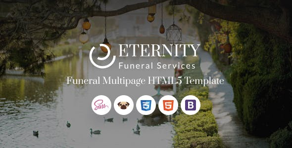 Download Eternity - Funeral Services HTML5 Template