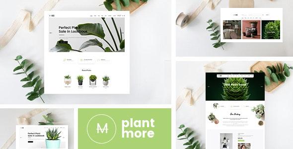 Plantmore v1.0 – Organic & Plant Responsive Prestashop Theme