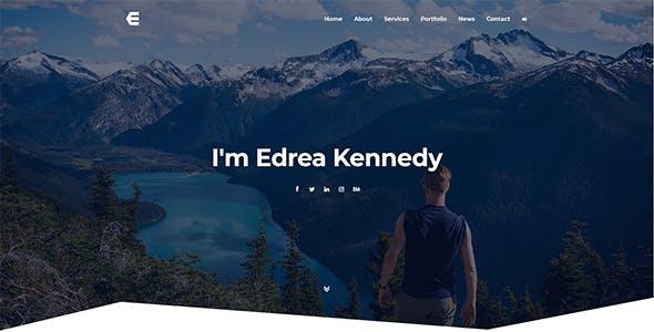 Download Edrea - Personal Portfolio Template