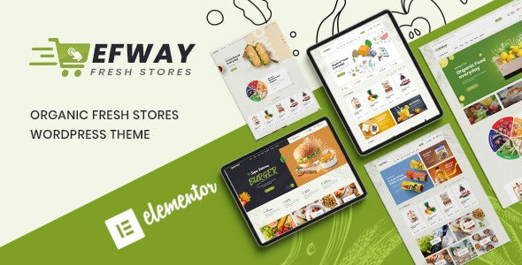Food Store WooCommerce WordPress Theme - Efway - WooCommerce eCommerce