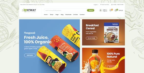 Food Store WooCommerce WordPress Theme - Efway