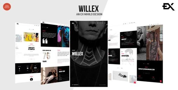 Willex - Photography Portfolio Template - Portfolio Creative