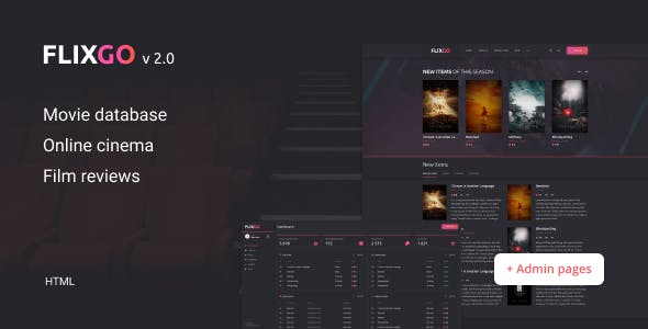 FlixGo – Online Movies, TV Shows & Cinema HTML Template