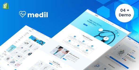 Gts Medil - Medical Shop Shopify Theme