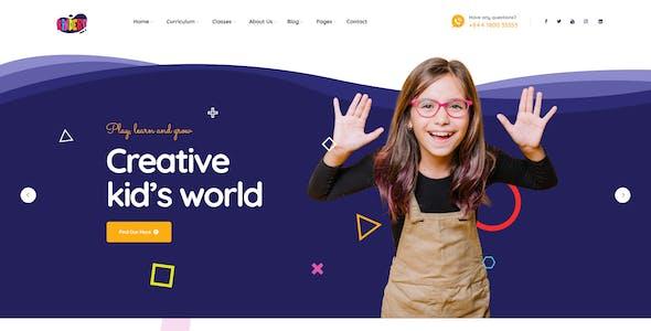 Kindero - Kindergarten School WordPress Theme
