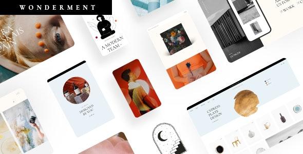 Wonderment - Agency Theme - Creative WordPress