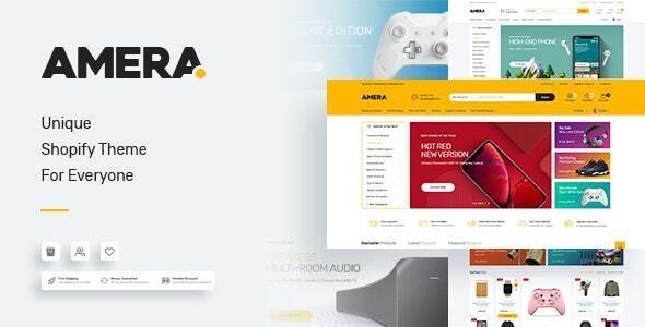 Amera - Multi-Purpose Premium Responsive Shopify Themes - Technology Shopify