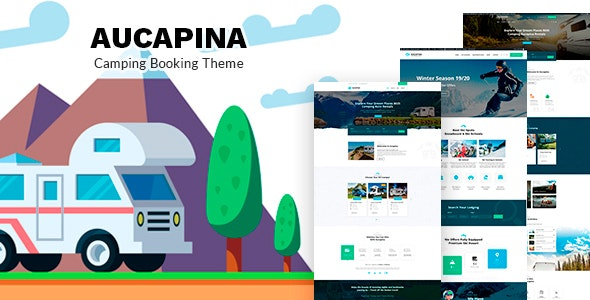 Aucapina - Motorhome & RV Rentals Theme - Travel Retail