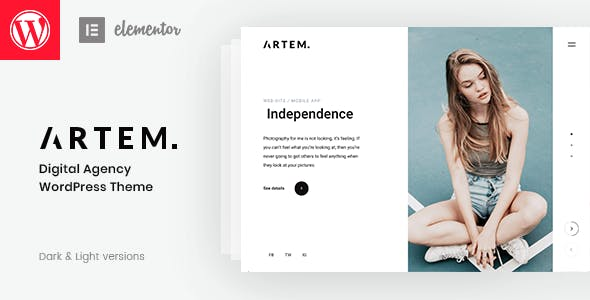 Download Artem - Digital Agency Theme