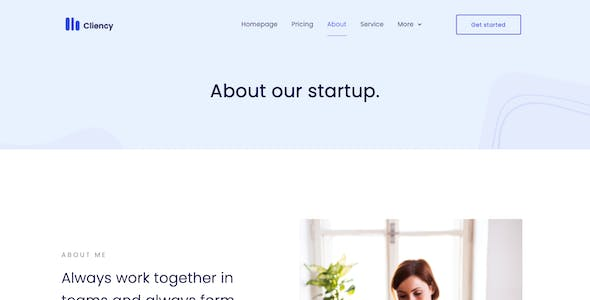 Clientcy | Business & Startup Elementor Template Kit