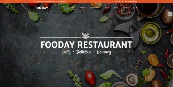 Fooday -  Restaurant HTML Template | Order Online & Reservations